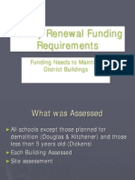 Vancouver School Board - Facility Renewal Funding Requirements
