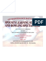 Spouses Pme and Bowling Flyer