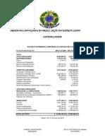 Prestação de Contas 25 - Julho 2010