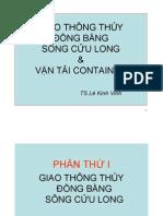 Giao Thong DBSCL Va Van Tai Container