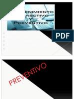 Mantenimiento Correctivo y Preventivo a Una a
