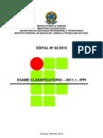 classificatorio ifpi