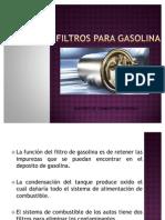 Filtros Para Gasolina