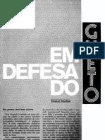 Em Defesa Do Gueto