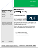 RLOC Coverage Free Version 6.13.11 ReachLocal research report