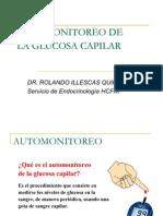 AUTOMONITOREO DE GLUCOSA