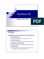Arquitetura OSI