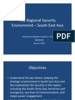 Thayer Regional Security Enviroment South East Asia
