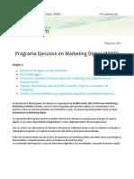 Ficha Programa Ejecutivo de Marketing Digital - OM Latam Academy