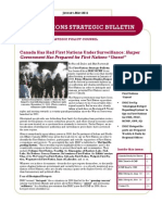 First Nations Strategic Bulletin - Jan-May 2011