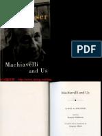Machiavello y Nosotros 1962-1986-1995 (Louis Althusser