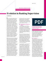 Evolution in Banking Supervision