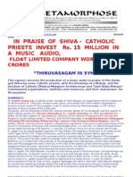 In Praise of Shiva priests Invest Rs 15 Million_float Company Worth Rs 100 Crores