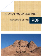 Charlas Pre- Bautismales
