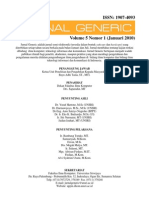 Jurnal Generic Vol 5 No 1 Januari 2010