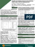 A falta de harmonizaçao na nomenclatura de polimorfos - uma dificuldade para o setor farmacêutico