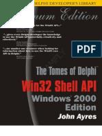 Delphi Win32 Shell API