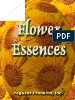 Flower Essences Pegasus Products - Booklet