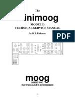 Minimoog Technical Service Manual
