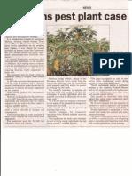 WRC Pest Plant Case