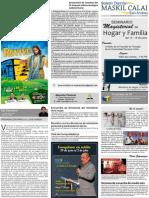 Boletin Informativo MASKIL CALAI 3 Distrito de San Andrés