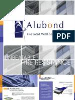 Alubond USA Fire-Rated Aluminium Composite Panel Brochure