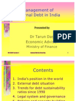 External Debt Management in India by Tarun Das