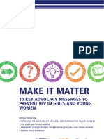 Make It Matter HIV Prevention for Girls