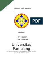 Kebudayaan Bugis Makassar