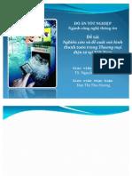 Nghiên cứu và đề xuất mô hình thanh toán trong Thương mại điện tử tại Việt Nam