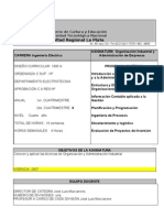 Organizacion Admin Empresas