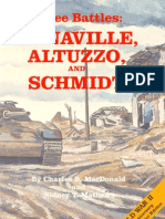 Three Battles - Arnaville Altuzzo, And Schmidt