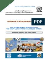 UNITAR Indonesia Public Debt Workshop Report
