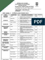 Informe Periodo 1 Decimo b Jm 2011