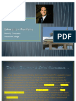 Education Portfolio