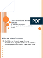 Cancer Microinvasor de Cervix