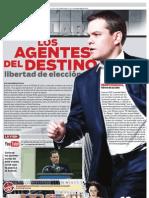 LOS AGENTES DEL DESTINO 01 ABR 11 P1