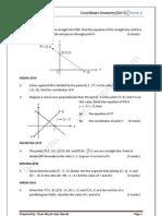 Coordinate Geometry@Set5 2010