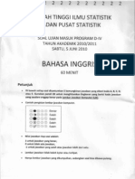 SoalSTIS2010-BahasaInggris
