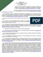 Constituicao Federal Administracao Publica Arts 37 e 39 a 41