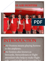 Air Hostess+Ppt2007