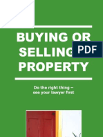 Buying or Selling a Property
