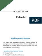 Chapter 09 Calendar