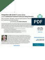 Castlewood 2011 ILC Lecture Series Invitation