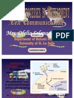 Molecular Processes-cellular Communication Systems