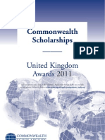 Prospectus Scholarships 2011