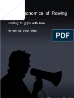 The Ergonomics of Rowing