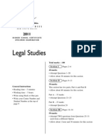 Legal Studies HSC Practise Paper