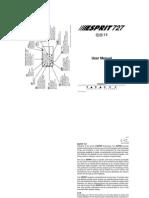 Esprit 727 v3.30 User Manual