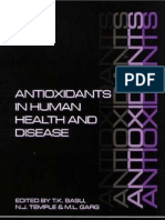 Antioxidants in Human Health and Diseases